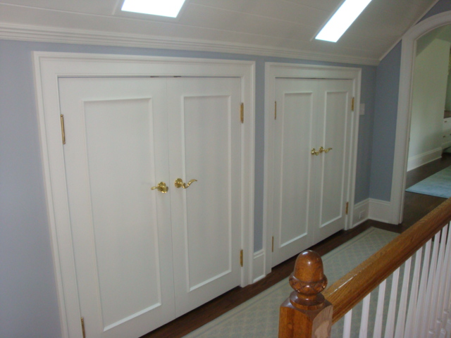 New closets under roof